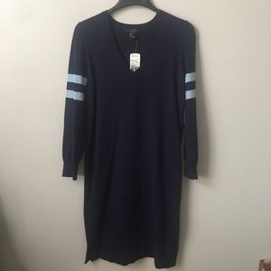 Forever 21 Sweater Dress In Navy